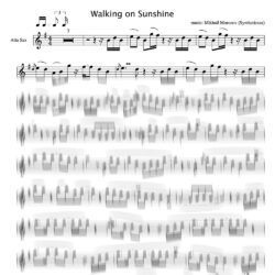 walking_sunshine_sheet_music