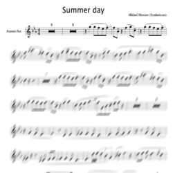 Summer_day_soprano_score