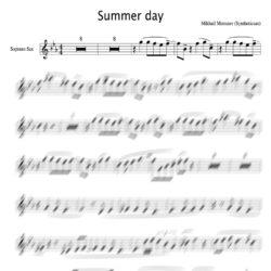 Summer_day_soprano_score