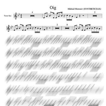 oig electro for sax tenor