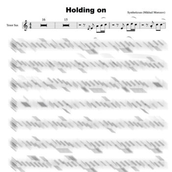 Holding_on_sax_tenor_score