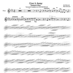 Flute_deepest_blue_backing_track_and_sheet_music_give_it_away