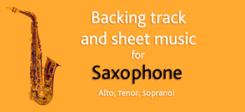 sheet music exclusive for saxophone