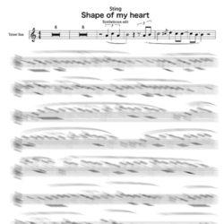 Sax tenor sting backing track