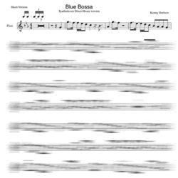 Flute Blue Bossa minus
