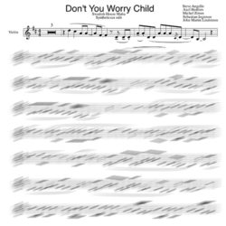 Swedish House Mafia sheet music violin